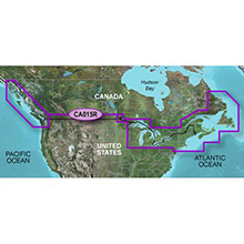GARMIN Canada, (HXCA015R), BlueChart g2 HD map on SD card