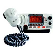 COBRA MR F77B VHF w and GPS Hailer White