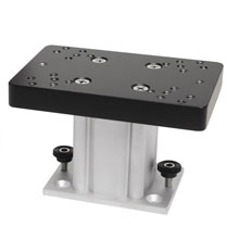 CANNON Aluminum Fixed Base Downrigger Pedestal - 4 inch