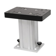 CANNON Aluminum Fixed Base Downrigger Pedestal - 6 inch