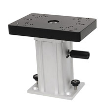 CANNON Aluminum Swivel Base Downrigger Pedestal - 6 inch