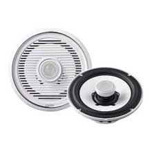 Clarion Speaker 7 inch Coaxial white and chrome