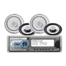 CLARION M309 Stereo w and 7 inch Speakers