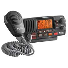COBRA Marine Radio Fixed Mount Class D VHF Radio %2D Grey