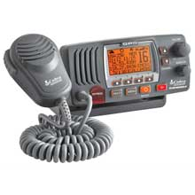 COBRA Fixed Mount Class D VHF Radio %2D Grey