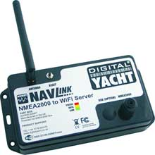 DIGITAL YACHT NavLink NMEA 2000 to WiFi server with usb