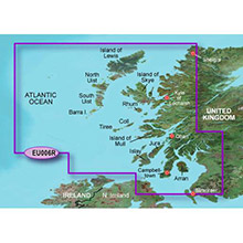 GARMIN Europe - Scotland, West Coast, (HXEU006R), BlueChart g2 HD map on SD Card