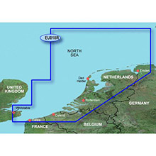 GARMIN Europe - The Netherlands, (HXEU018R), BlueChart g2 HD map on SD Card