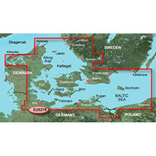 GARMIN Denmark East and Sweden Southeast, (HXEU021R), BlueChart g2 HD map on SD Card