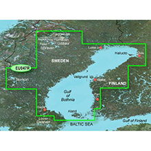 GARMIN Gulf of Bothnia - Kalix to Grisslehamn, (HXEU047R), BlueChart g2 HD map on SD Card