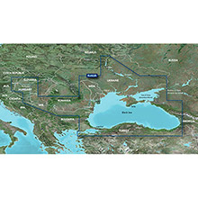 GARMIN Russia - Black Sea and Azov Sea, (HXEU063R), BlueChart g2 HD map on SD Card