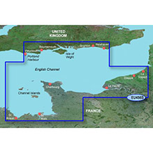 GARMIN The Solent and Channel Islands, (HXEU456S), BlueChart g2 HD map on SD Card