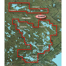 GARMIN Europe - Kupio-Lappeenranta, (HXEU489S), BlueChart g2 HD map on SD Card