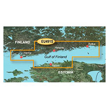GARMIN Europe - Kotka to Hanko, (HXEU491S), BlueChart g2 HD map on SD Card