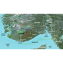 GARMIN Europe - Oslo-Mandal-Smogen, (HXEU507S), BlueChart g2 HD map on SD Card