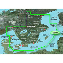 GARMIN Europe - Sweden South, (HXEU711L), BlueChart g2 HD map on SD Card