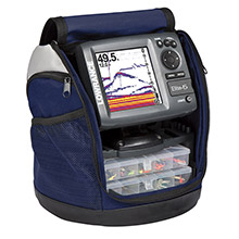 LOWRANCE Elite-5 Ice Machine