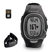 GARMIN FR 60 Black with Premium HRM and USB ANT stick