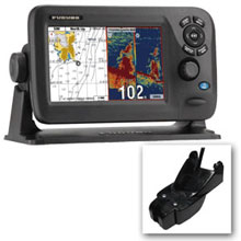 FURUNO GP1870F 7inch Color GPS Chartplotter and Fishfinder Combo w and 525STID%2DPWD 600W Plastic TM Transducer