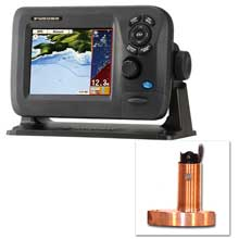 FURUNO GP1670F 57 inch Color GPS Chartplotter and Fishfinder Combo w and 525STID%2DMSD 600W Bronze Thru%2DHull Transducer