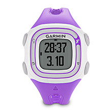GARMIN Forerunner 10 Violet and White