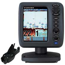 FURUNO FCV627 57 inch Color Fishfinder Combo w and 600W Transom Mount Transducer 525STID%2DPWD