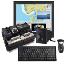 FURUNO NavNet TZtouch Black Box Package w and Hatteland Series X 17inch Display Gyration Air Mouse GO Plus w and Keyboard