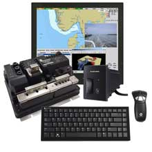 FURUNO NavNet TZtouch Black Box Package w and Hatteland Series X 19inch Display Gyration Air Mouse GO Plus w and Keyboard