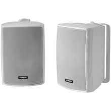 FUSION Compact Box Speaker, pair, white, 100W