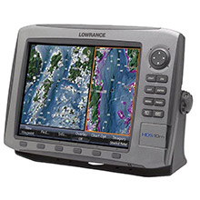 LOWRANCE HDS 10m Insight USA Multifunction Chartplotter