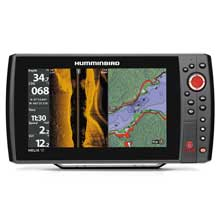 HUMMINBIRD HELIX 10 SI and GPS KVD Combo