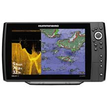 HUMMINBIRD HELIX 12 CHRIP DI and GPS Combo