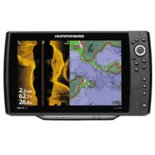 HUMMINBIRD Helix 12 CHIRP SI and GPS Combo