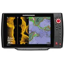 HUMMINBIRD HELIX 12 CHIRP SI and GPS KVD Combo