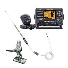 ICOM M506 VHF w/ antenna and mount