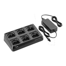 Icom 220V 6-gang Radio Charger for BP265