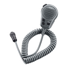 ICOM Microphone with plug, For M504,M604. Gray.