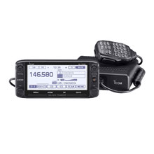 ICOM ID5100A VHF and UHF Amateur Radio w and MBA2