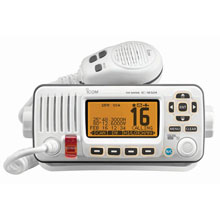ICom M324 Fixed Mount VHF Marine Transceiver - Super White