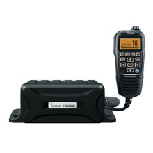 ICom Black Box VHF Marine Tranceiver w/Black Command Mic