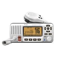 ICom M424 White VHF Fixed Mount w and Class D DSC