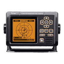 ICOM Class B AIS Transponder and GPS Receiver