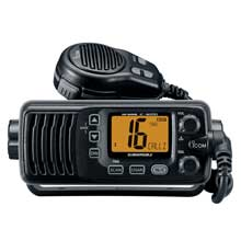 ICOM M200 fixed mount VHF radio - black