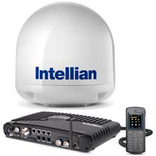 INTELLIAN Fb250 antenna system w and matching i3 dome