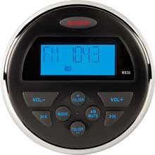 JENSEN AM and FM and USB Waterproof Compact Stereo