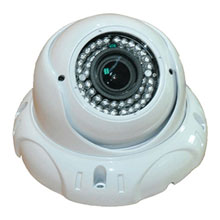 KJM Varifocal Dome Camera, Surface Mount