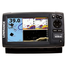 LOWRANCE Elite-7 CHIRP Combo 83/200 and 455/800 Transducer