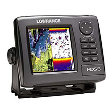 LOWRANCE HDS 5 Gen2 Lake Insight Bundle w/LSS-2, 83/200 kHz and LSS-2 Transducer