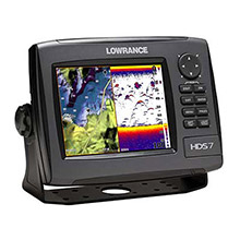 LOWRANCE HDS 7 Gen2 Base US 83 and 200 kHz TM Transducer
