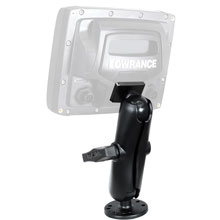 LOWRANCE RAM 1.5 inch Mark/Elite 5 inch Series Quick Release Mount